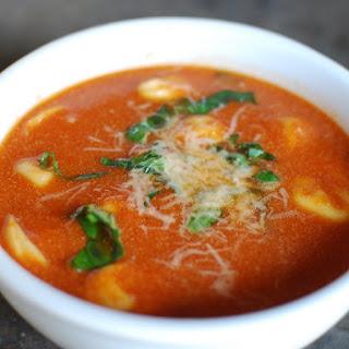 Pressure Cooker Tomato Tortellini Soup