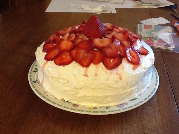 Summer Breeze White Cake Recipe