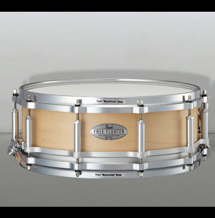 "14"" x5"" Pearl Free Floating Maple - Satin Natural"
