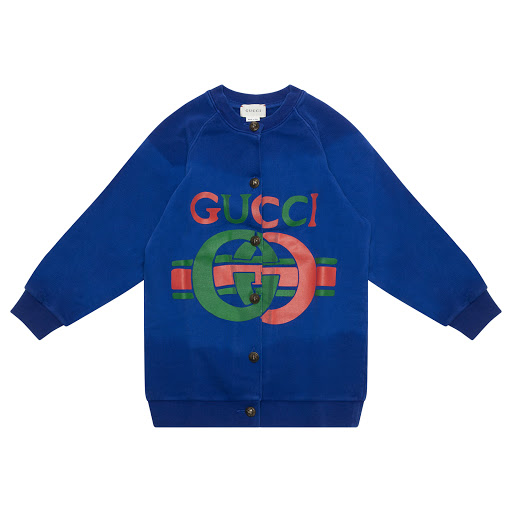Primary image of Gucci Girls Button Sweatop