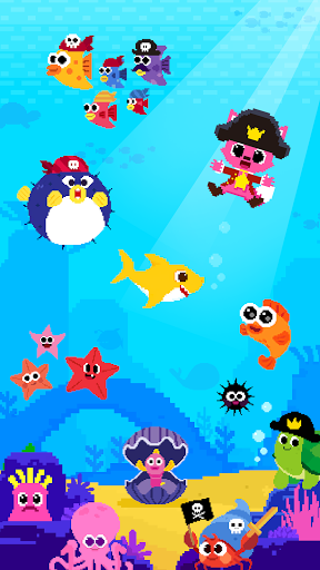 Baby Shark 8BIT : Finding Friends 1.0 screenshots 6