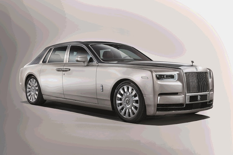 The new Phantom is about presence. Picture: ROLLS-ROYCE MOTOR CARS LTD