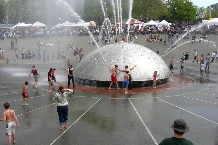 International Fountain in Seattle