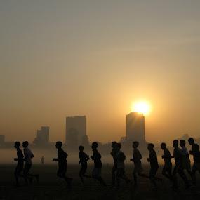 rhythm of life by Arup Chowdhury - City,  Street & Park  Street Scenes