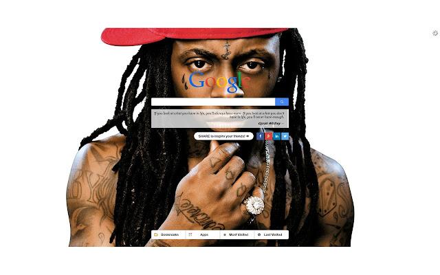 Lil Wayne New Tab