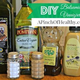 Easy Homemade Single Serving Balsamic Vinaigrette