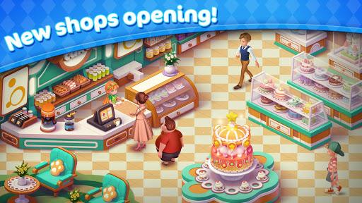 Jellipop Match-Decorate your dream town! apkbreak screenshots 1