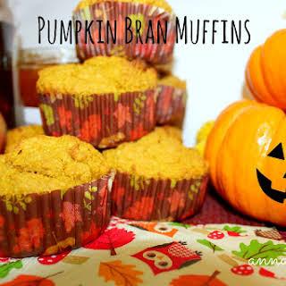 Pumpkin Bran Muffins.