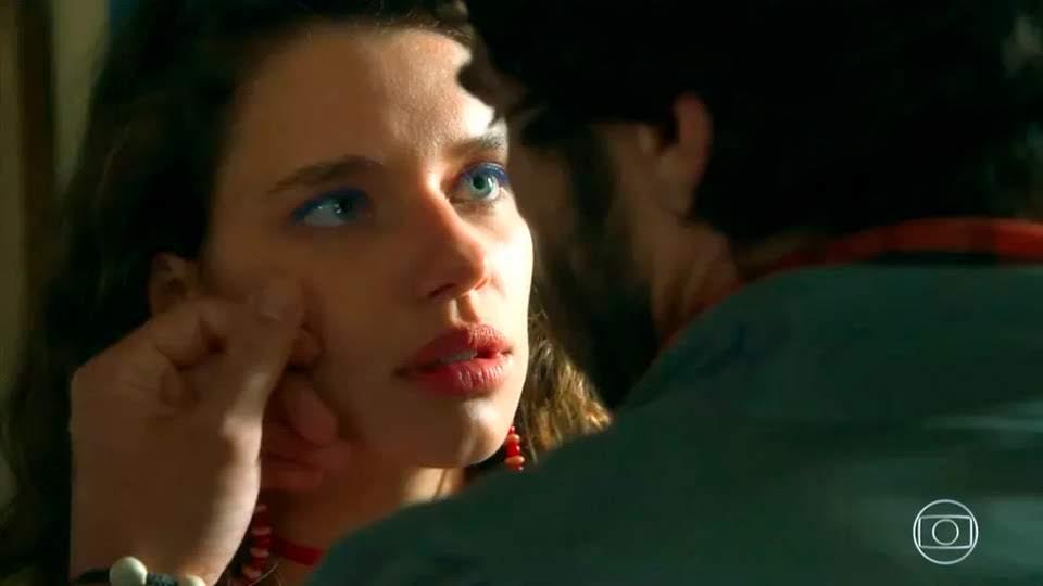 Lourdes Maria e Geandro Resumo da novela o sétimo Guardião