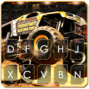 Download Racing Monster Track Keyboard Theme APK for Android Kitkat