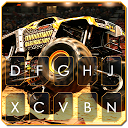 Racing Monster Track Keyboard Theme APK
