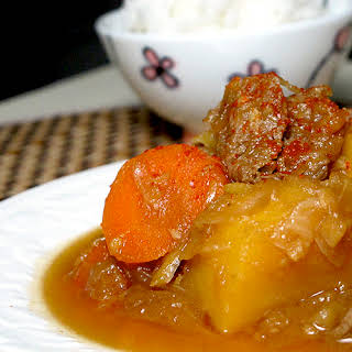 NIKUJAGA (Japanese Meat & Potato stew).