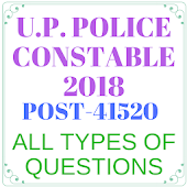 UP POLICE CONSTABLE 2018 (ALL TYPES OF QUESTIONS)
