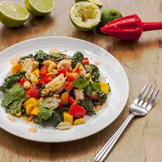 Thai Kale Chicken Salad.