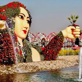 Miracle Garden by Nadeem M Siddiqui - City,  Street & Park  City Parks