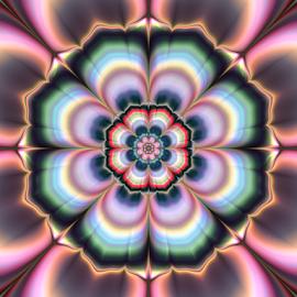 Flower 8 by Cassy 67 - Illustration Abstract & Patterns ( abstract, bright, wallpaper, digital art, flowers, fractal, digital, fractals, energy, flower )