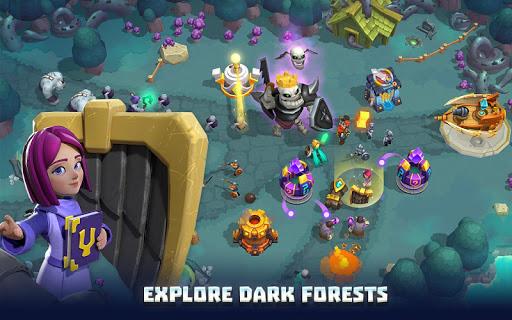 Wild Sky TD: Tower Defense Legends in Sky Kingdom screenshots 13
