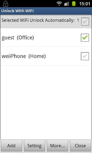 Unlock With WiFi Pro