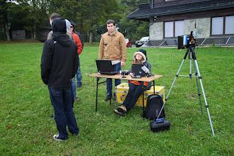 Photo: Warszawski zespół ze Studenckiego Międzywydziałowego Koła Naukowefo SAE prowadzi misję rozpoznawczą.