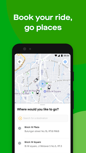Gojek - Ojek Taxi Booking, Delivery and Payment screenshot 1