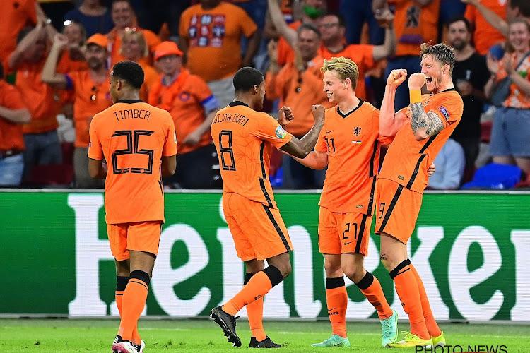 Nederland naar eerste overwinning op EK na rollercoaster in waanzinnige tweede helft tegen Oekraïne