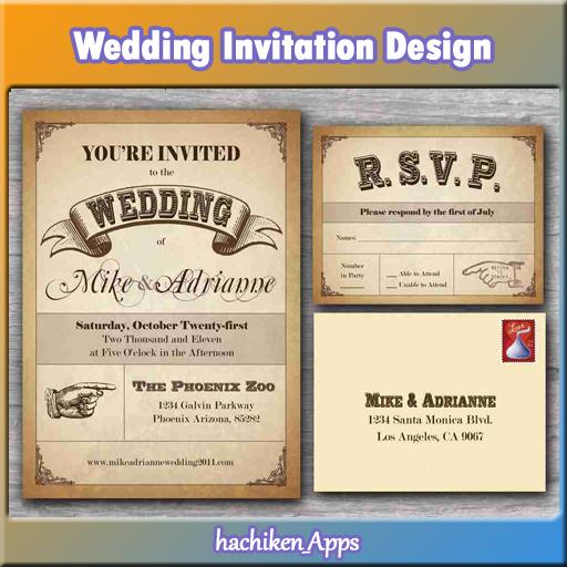結婚式の招待状のデザイン 生活 App LOGO-APP試玩