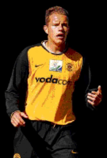 STEELY: Former AmaZayoni strongman Gordon Gilbert has joined Kaizer Chiefs. 29/06/2008. Pic. Lefty Shivambu.  © Sowetan.