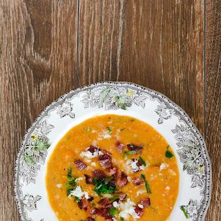 Baked Sweet Potato Soup.