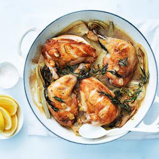 Tarragon and Lemon Roast Chicken.