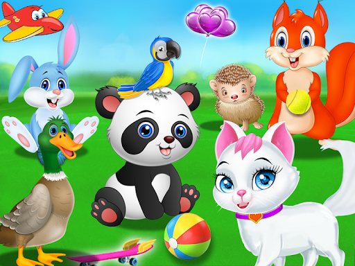 Pet Vet Care Wash Feed Animals - Animal Doctor Fun android2mod screenshots 4