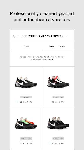 GOAT - Sneakers & Designer Fashion screenshots 6