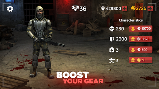 Zombie Arena: Fury Shooter Online MOD (Immortality/High Damage) 2