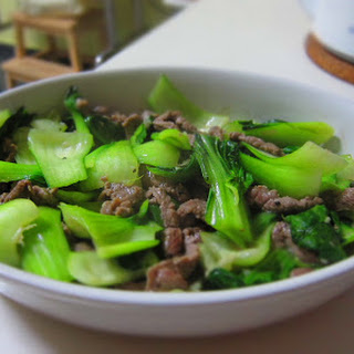 Stir Fry Beef and Baby Bok Choy Recipe