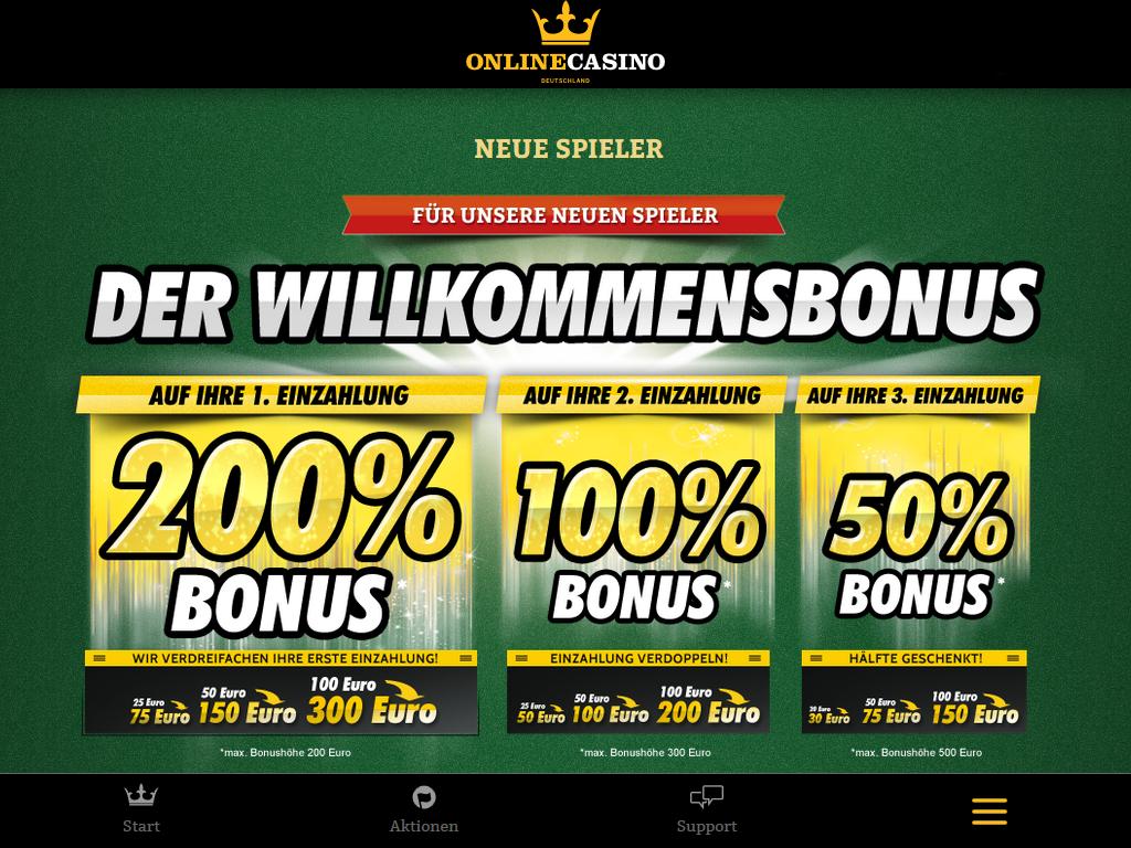 Mobile Casino App at OnlineCasino Deutschland OnlineCasino Deutschland