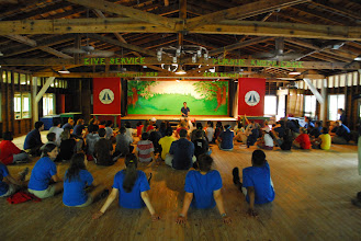 Photo: Tasnena Lodge during summer camp.