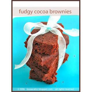 Moist Chewy Brownies