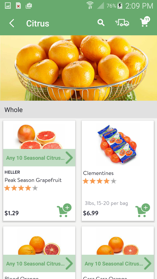 FreshDirect- screenshot