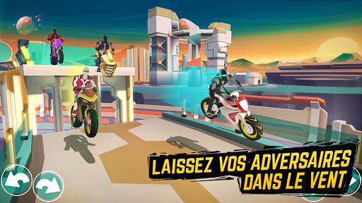 Gravity Rider - Moto-cross - Jeu de course de moto  captures d'écran 2