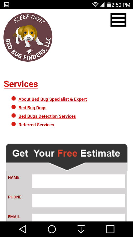 Bed Bug Finders- screenshot