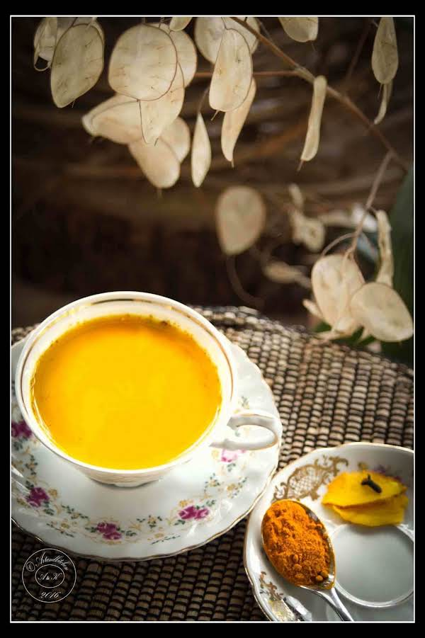 Dr. Taz's Golden Milk Recipe