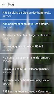 Prêche la Parole- screenshot thumbnail