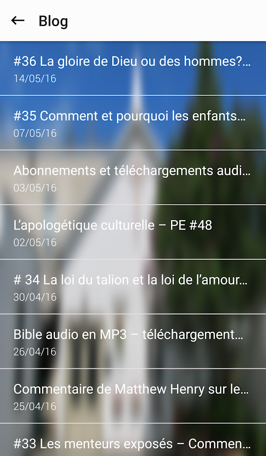 Prêche la Parole- screenshot