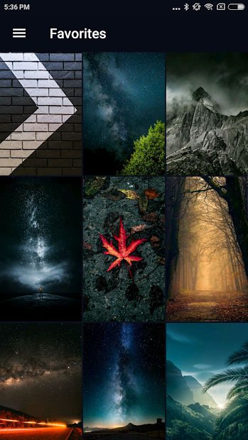 Wallpapers HD, 4K Backgrounds Android App Screenshot