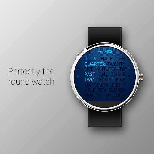 Wordy Watch Face