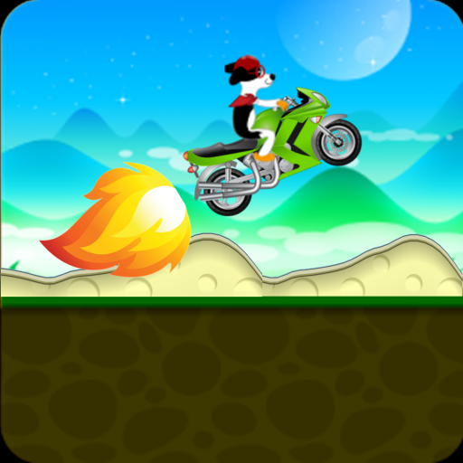 Monster Car Hill Climb Racing