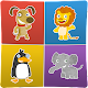 Animals memory game for kids (game)