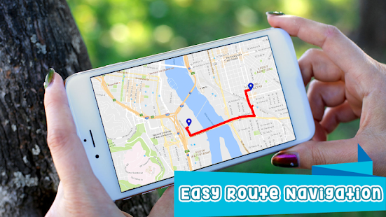 GPS Route Finder- screenshot thumbnail
