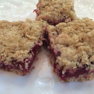 Plum Oatmeal Bars