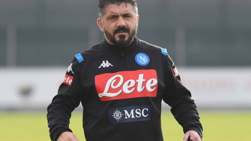Gennaro Gattuso, entrenador del SSC Nápoles.