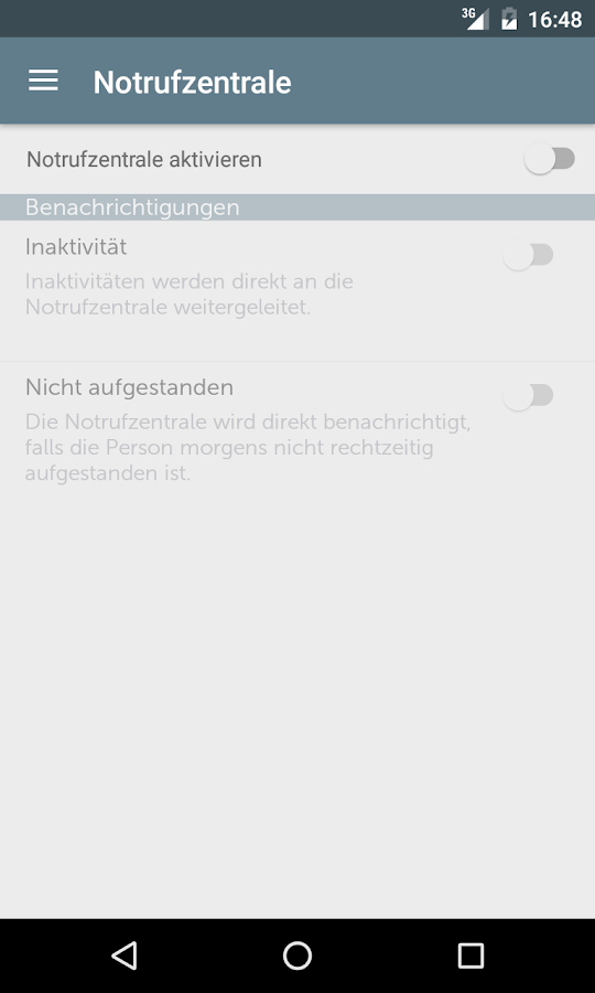 ambioassist – Screenshot